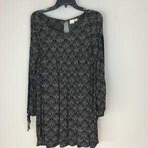 Roxy Long Sleeve Mini Tunic Dress Size M